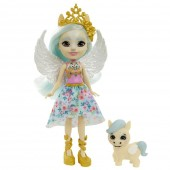 Papusa Enchantimals Paolina Pegasus cu figurina Wingley