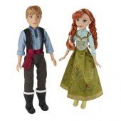 Papusi Frozen Anna And Kristoff