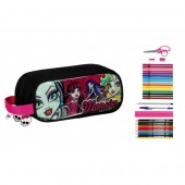 Penar triplu echipat 34 piese Monster High All Stars