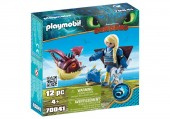 Playmobil Dragons 3 ASTRID SI HOBGOBBLER
