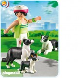 Playmobil - CAINE COLLIE CU PUI Life in the City