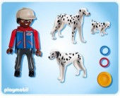 Playmobil - CAINE DALMATIAN CU PUI Life in the City