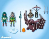 Playmobil - CATAPULTA DRAGONULUI Dragon Knights