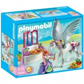 Playmobil - PRINTESA SI CAL INARIPAT Magic castle