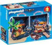 Playmobil - Set mobil insula piratilor