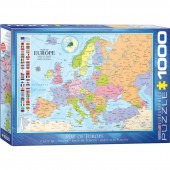 Puzzle 1000 piese Map of Europe