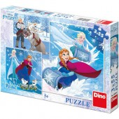 Puzzle 3 in 1 - Frozen