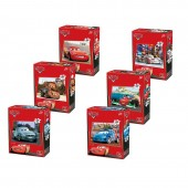 Puzzle 35 piese Disney Cars 2 (6 modele)