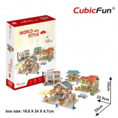 PUZZLE 3D - Case traditionale din Asia