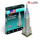 PUZZLE 3D - CBFA - CHRYSLER BUILDING