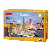PUZZLE 3D - CITY LINE PARIS