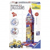 Puzzle 3D Minions Turnul Big Ben- 216 piese