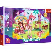 Puzzle Trefl Enchantimals, Bree Danessa si Felicy in gradina 160 piese