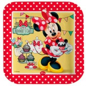 Set 4 platouri petrecere - Disney Minnie Mouse