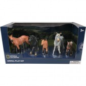 Set 5 figurine Cai salbatici - National Geographic