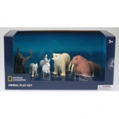Set 6 figurine Animalute polare - National Geographic