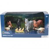 Set 7 figurine Animale domestice - National Geographic