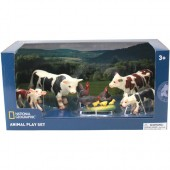 Set 7 figurine Animalute de la ferma - National Geographic
