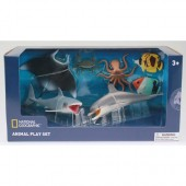 Set 7 figurine Animalute marine - National Geographic