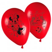 Set 8 baloane petrecere - Disney Minnie Mouse