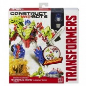 Set constructie Transformers Construct Bots Warrior Optimus Prime