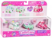 Set de 3 Mini Masinute Shopkins Cutie Cars Candy Combo