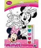 Set de colorat Premium A4 Disney Minnie Mouse