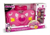 Set de joaca Disney Minnie Mouse dressing cu tinute pop si papusa