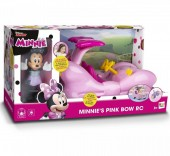 Set de joaca Disney Minnie Mouse MASINA FASHION RC+FIGURINA