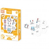 Set de joaca educativ - Set carduri Magneti
