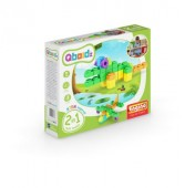 Set de joaca Engino QBOIDZ 2 IN 1 MULTIMODELE (CROCODIL)