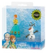Set de joaca figurine Disney Frozen Fever Anna+Olaf