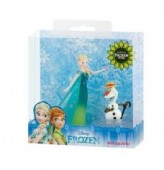 Set de joaca figurine Disney Frozen Fever Elsa+Olaf
