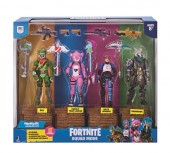 Set de joaca FORTNITE Squad Mode cu 4 figurine - Premium Pack