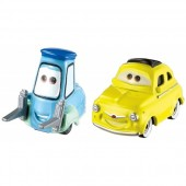 Set de joaca masinute Disney Cars 3 Luigi si Guido