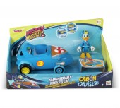 Set de joaca Masinute transformabile + figurine asortate Donald duck