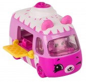 Set de joaca Mini Masinuta Shopkins Cutie Cars  Ice Cream Dream Car