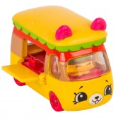 Set de joaca Mini Masinuta Shopkins Cutie Cars Bumpy Burger