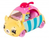 Set de joaca Mini Masinuta Shopkins Cutie Cars Cupcake Cruiser