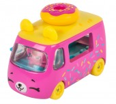 Set de joaca Mini Masinuta Shopkins Cutie Cars Donut Express