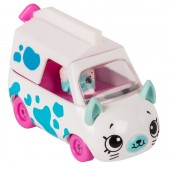 Set de joaca Mini Masinuta Shopkins Cutie Cars Milk Moover