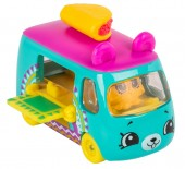 Set de joaca Mini Masinuta Shopkins Cutie Cars Traveling Taco