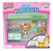 Set de joaca SHOPKINS HAPPY PLACES KITTY KITCHEN