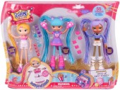 Set Papusi BETTY SPAGHETTY DELUX - 3 in 1
