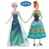 Set papusi Elsa si Anna - Disney Frozen Fever