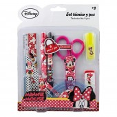 Set rechizite 9ps Minnie Mouse