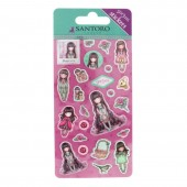 Set stickere Gorjuss Rosebud