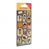 Set stickere Gorjuss Ruby (Galben)
