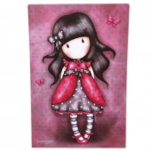 Tablou 19x29 canvas Gorjuss- Ladybird