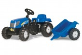 Tractor Cu Pedale Si Remorca ROLLY TOYS